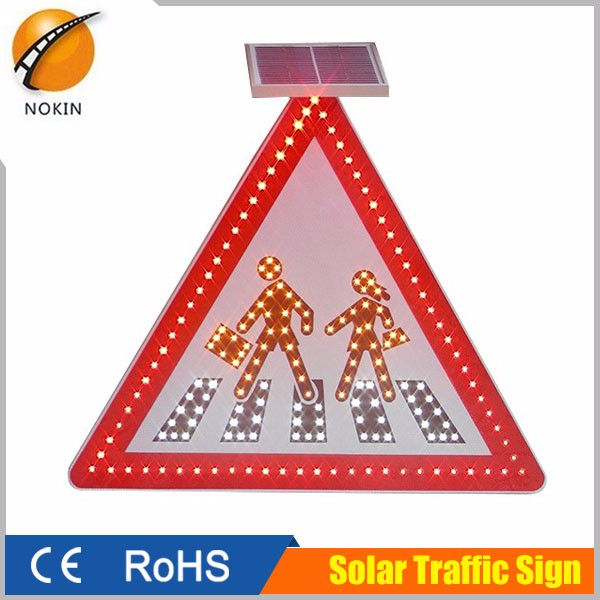 High grade Reflective film DC12V Voltage solar power led warning light