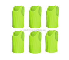 Soccer Sports Scrimmage Vest Jersey, School Mesh Training Vests, Basketball mesh Bibs