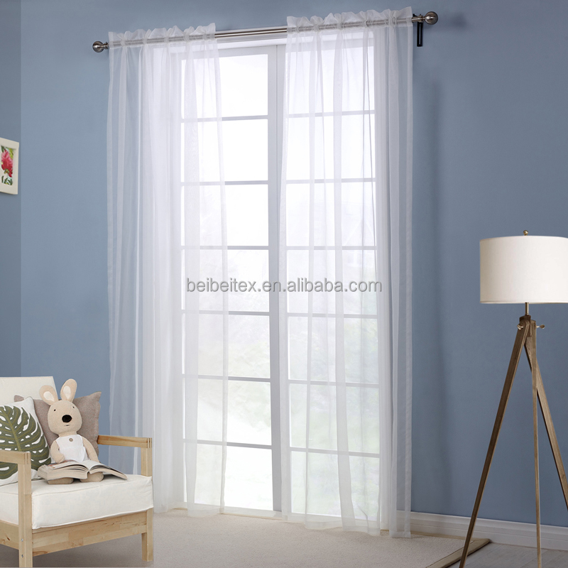 wholesale curtain white sheer curtain living room curtains