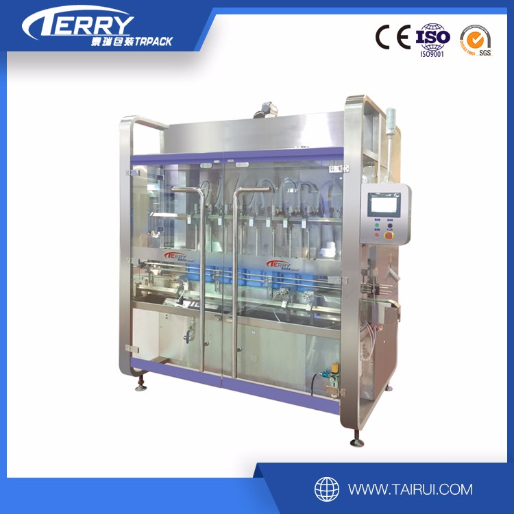 GGZ300-8Auto liquid high viscosity PET bottle filling machine
