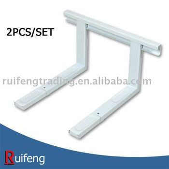 2pcs microwave shelf bracket wall mount