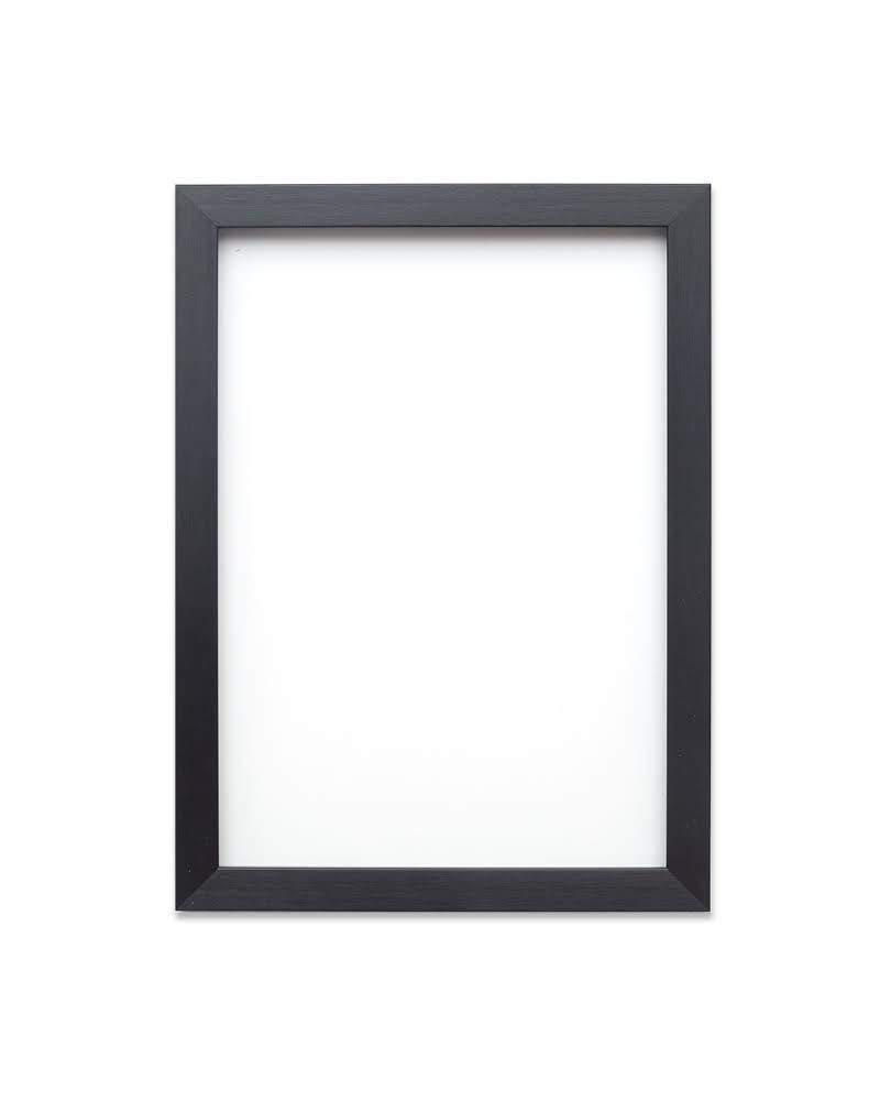 "FRAME Company Rainbow Colour Range Picture/Photo/Poster With An MDF Backing BoardReady To Hang Or Stand With A High Clarity Styrene Shatterproof Perspex Sheet 14""X11"" Black"