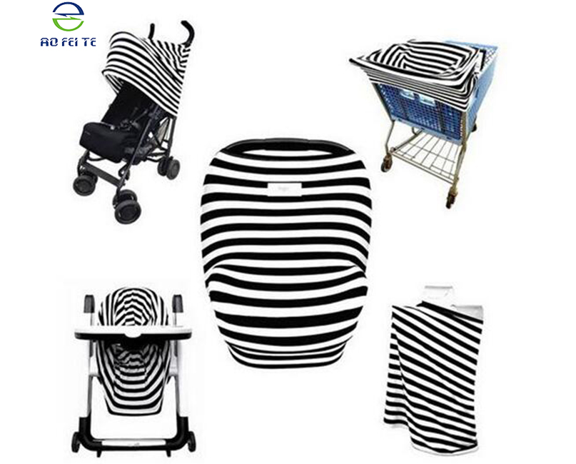 Custom Premium Stretchy High Chair Nursing Breastfeeding Cover for Babies