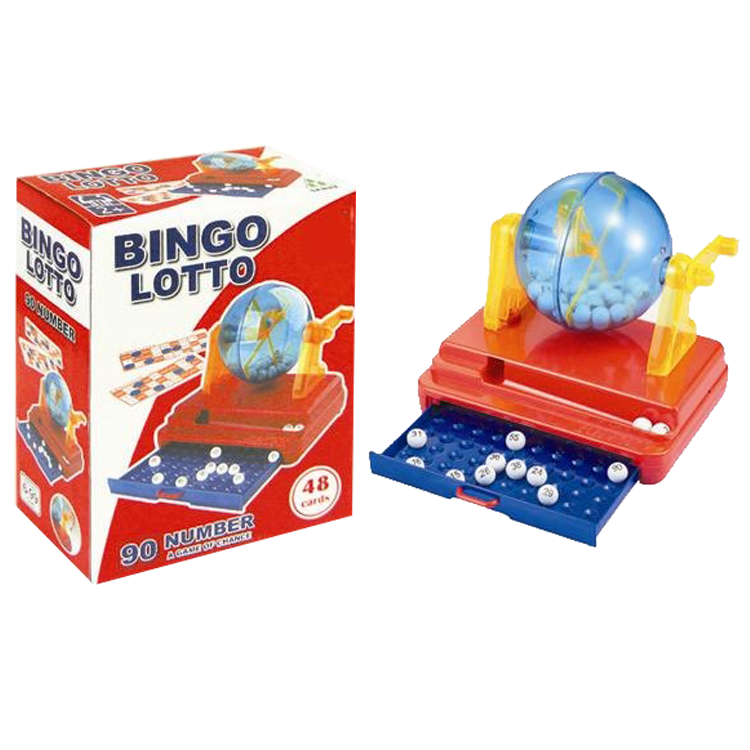 kids indoor play 90 number 48 cards toys bingo game machine for sale