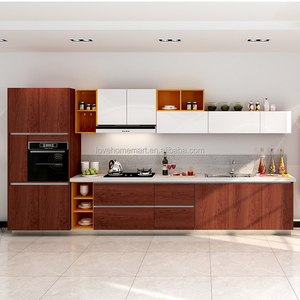 Simple Electrical Unit Design Fiber Kitchen Cabinet