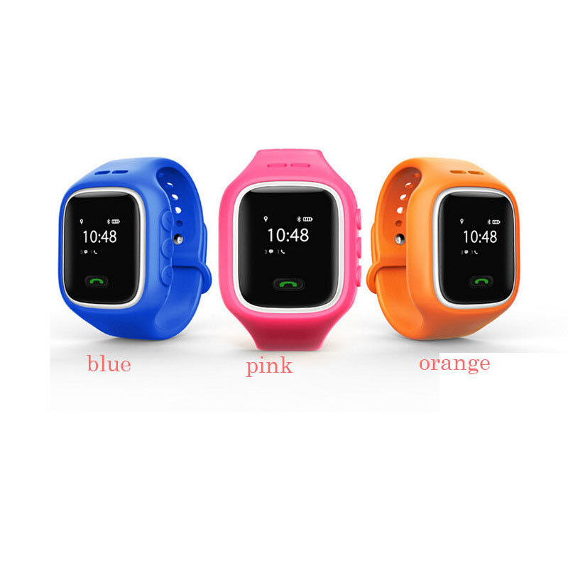 GPS Tracker Smart Wrist Watch Location Tracking SOS Call Anti Lost For Kid Child