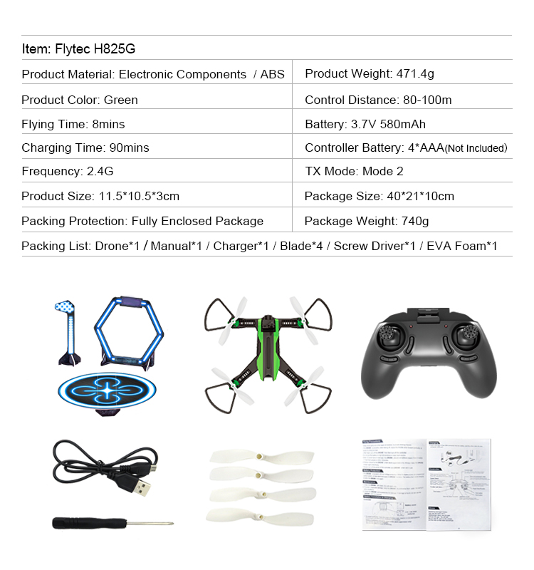 Flytec_H825G_RC_Drone_5.8G_VR_Racing_Quadcopter_Wide_Angle_Camera_FPV_High_Speed_RTF_Mini_Drones_Toys_12
