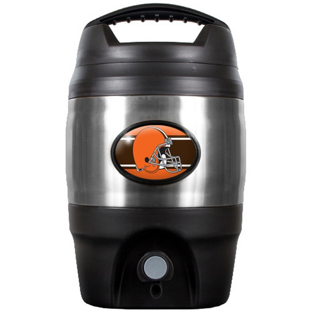 NFL Cleveland Browns Tailgate Keg, 1-Gallon