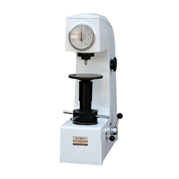 Speed adjustable manual rockwell hardness tester