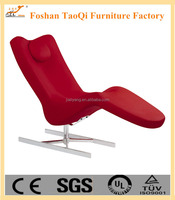 Italian design modern leisure chair with footrest K30