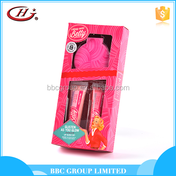 BBC Along Came Betty Gift Sets OEM 009 Personalized custom kids long lasting wholesale lip gloss
