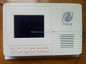 En stock earthquake alarm, quake detector early warning device for family, hospital, school, office