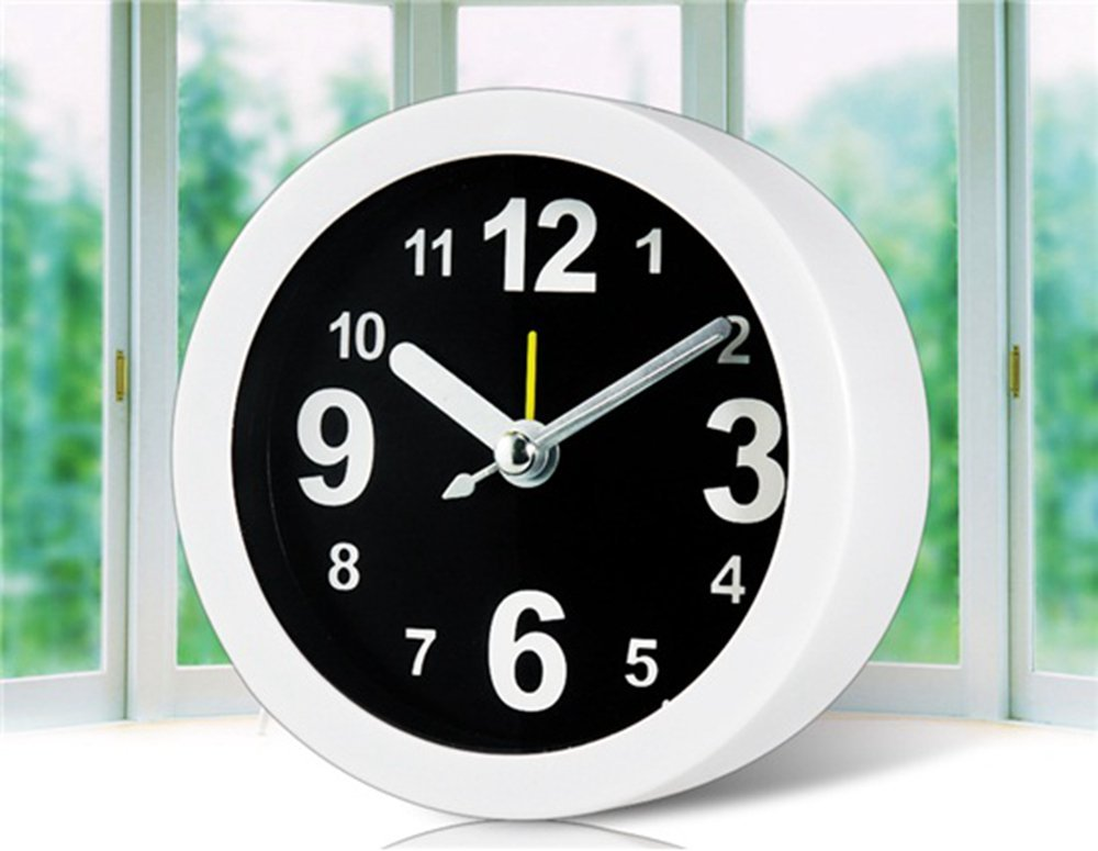 DS-Simple Style Round Shaped Alarm Clock