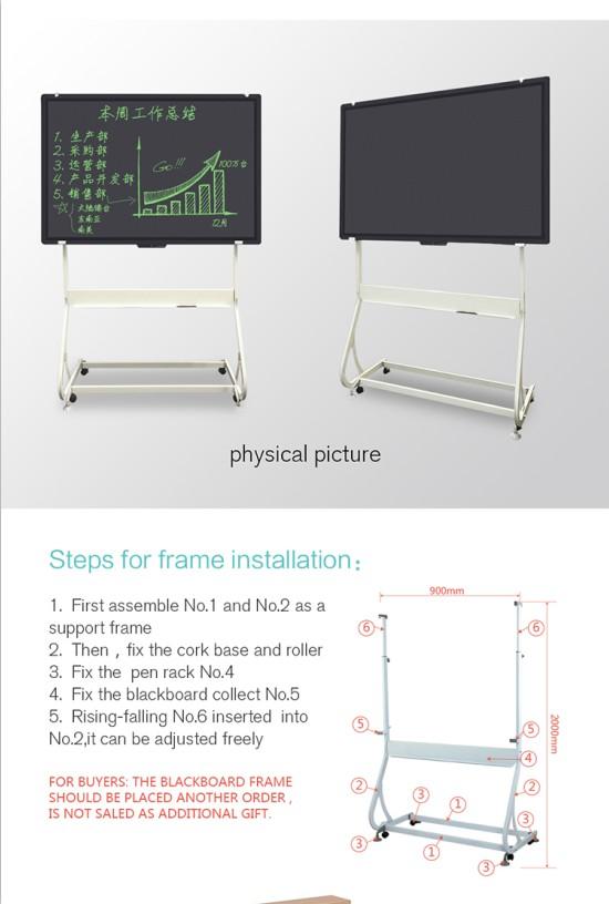 Sala De Aula De Escola Apagável Elétrico portátil Digital LCD Suporte de placa de Escrita