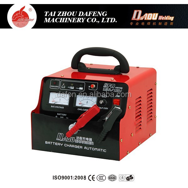 Portable automotive 12v output car battery charger