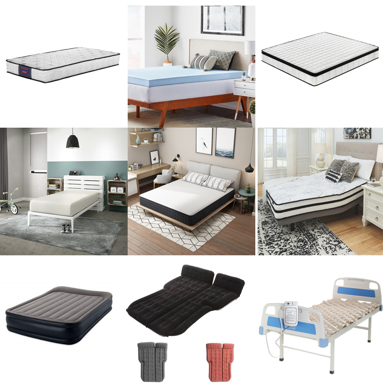 Super Comfy Hybrid Innerspring Mattress with Breathable Dual-Layered, 12 Inch, queen size - Jozy Mattress | Jozy.net