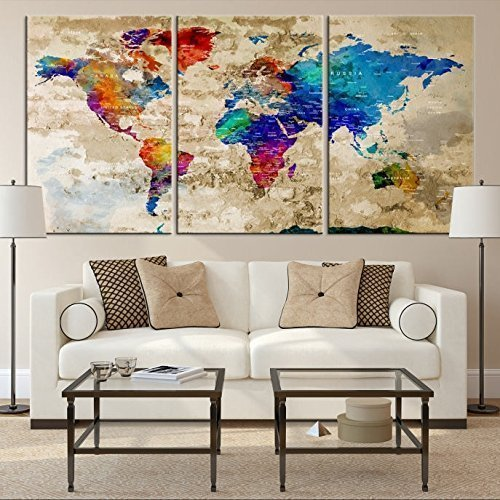 Colorful World Map Art.Cheap World Map Of World Find World Map Of World Deals On Line At