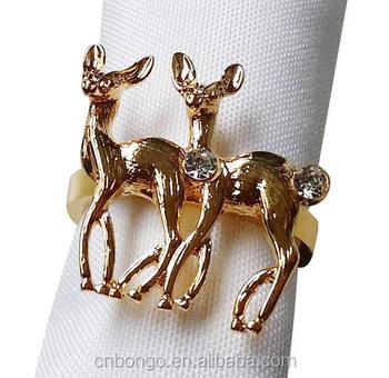 Deer Napkin Ring Serviette Holder