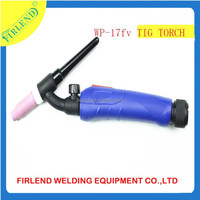 WP-17 Gas cooled Air-cooled WP17 Argon GasTig Welding Torch with valve flexible torch head
