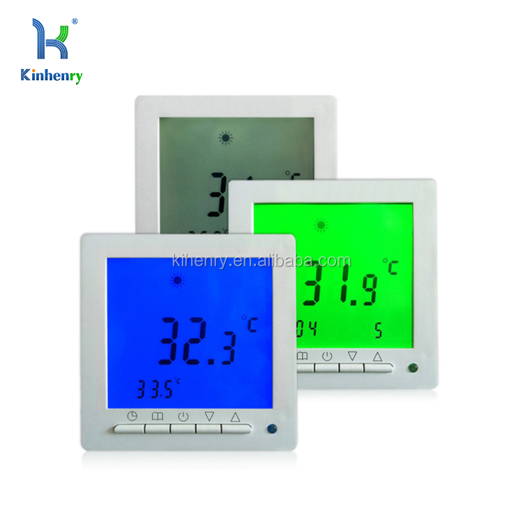 Ht09 Large Lcd Screen Heating Room Thermostat With Weekly