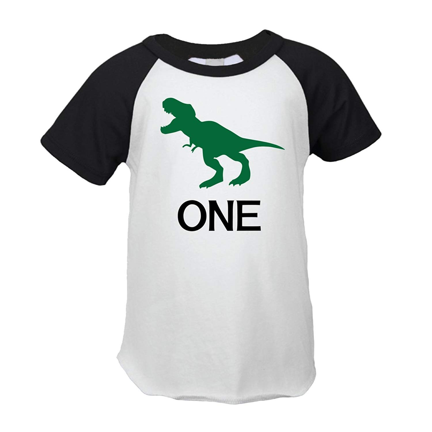 Dinosaur First Birthday Outfit Boy One Year Old T Shirt