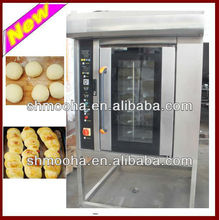bread manufacturer 8pans rotary oven/also supply 16&32&64 trays