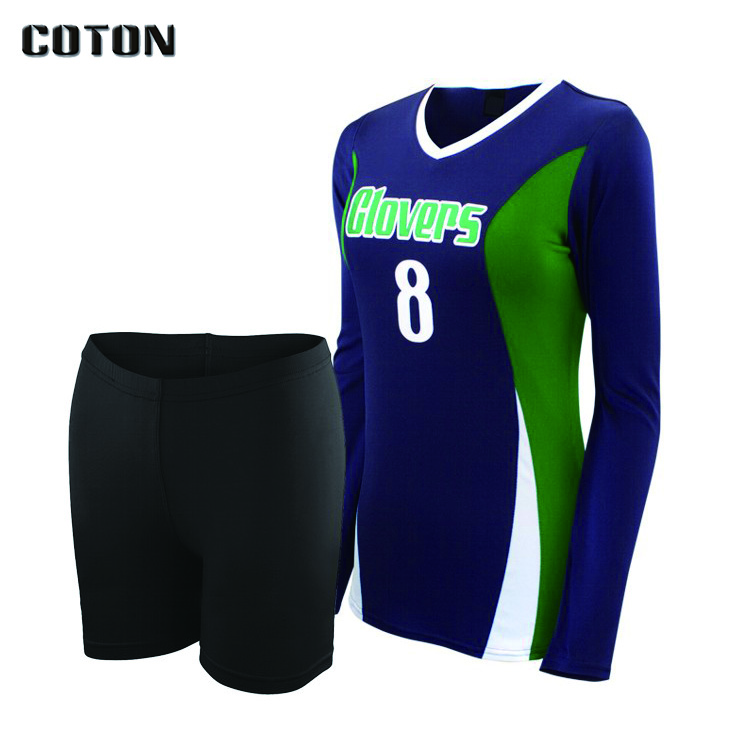 100% polyester sublimation custom design your own volleyball jersey