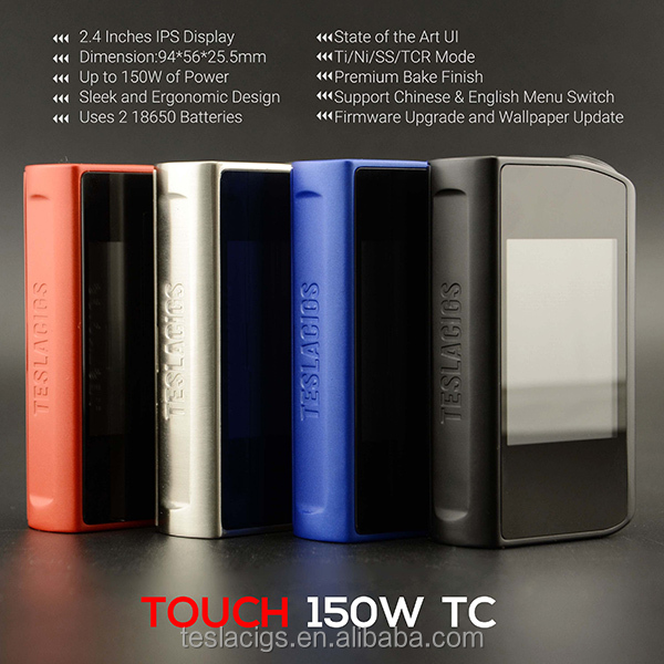 Teslacigs Touch 150W TC Mod from Teslacigs, Tesla Touch Mod