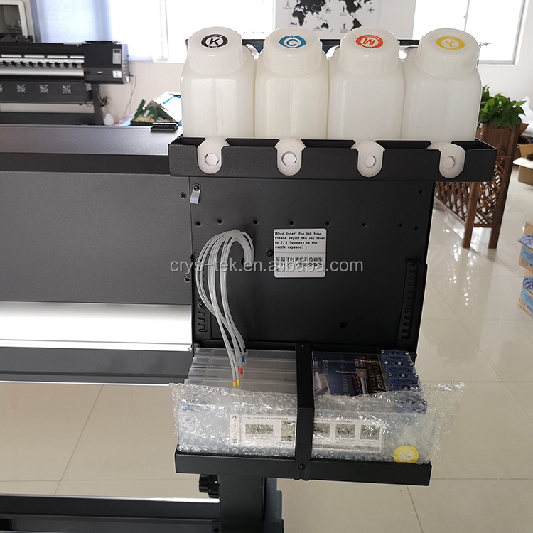 Media adsorption system wide format eco solvent printer