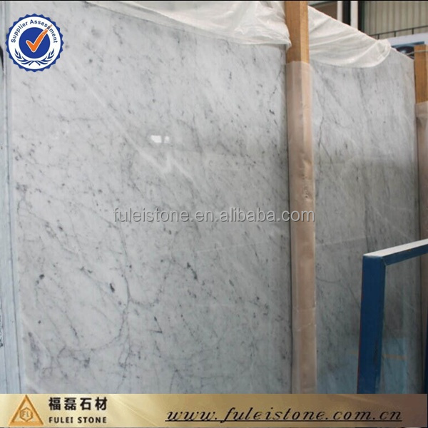 Italiano blanco bianco carrara losas de marmol en m2 for Marmol travertino precio m2