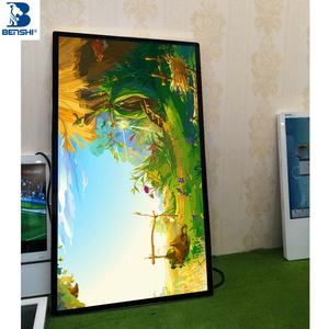 High Quality 42 Inch Network Wall-mounted hotel lobby full color video lcd tv advertising led board display