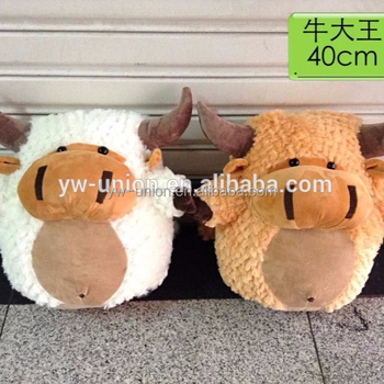Baby Cow Plush Toy Handmade Baby Bull Soft Cow Toys For Baby Toy ... 7205a83a3d