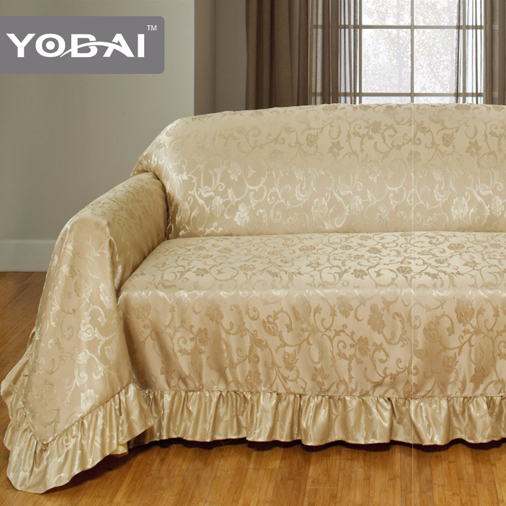 Sofa Full Cover Material Design View