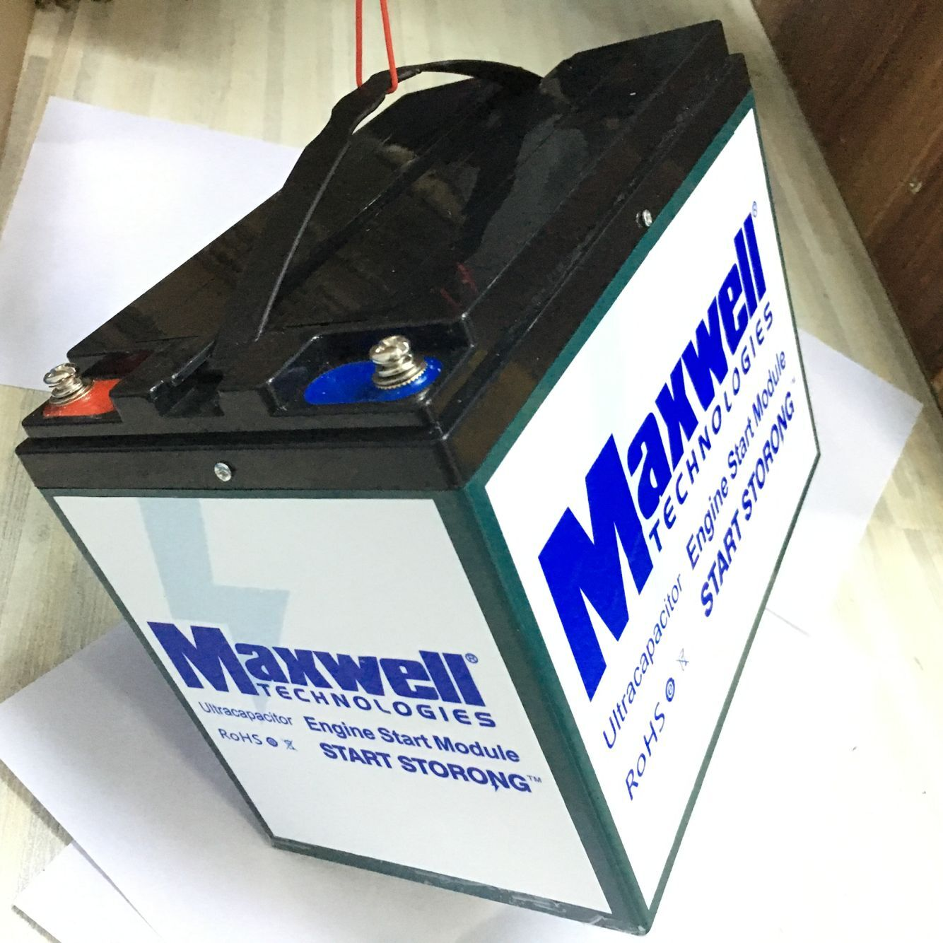 Maxwell 16V 500F super capacitor car battery 12v graphene audio capacitor  battery pack with plastic case, View super capacitor battery , maxwell
