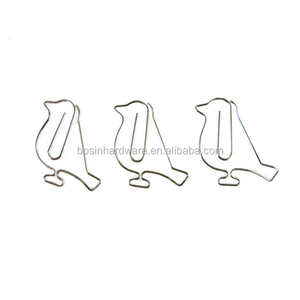 Fashion High Quality Metal Bird Paper Clips