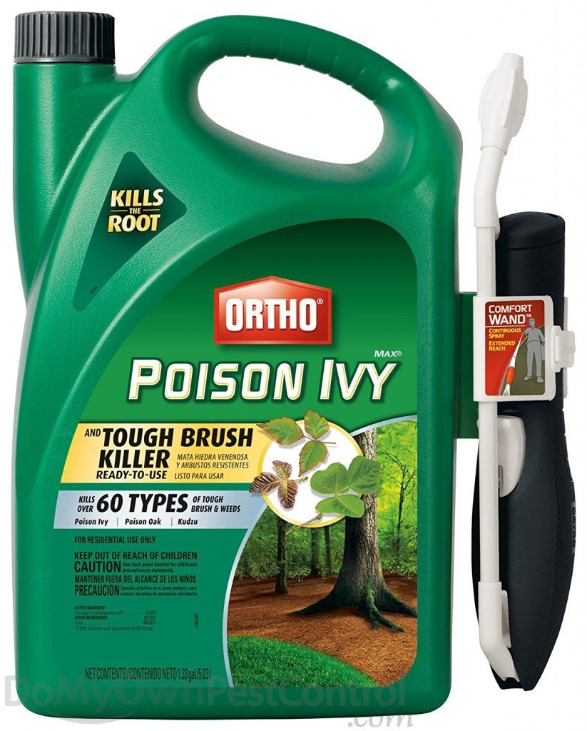 Ortho MAX Poison Ivy and Tough Brush Killer Ready-To-Use 1.33 GAL