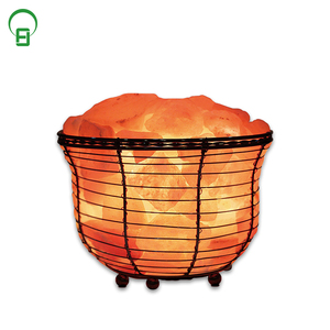 himalayan natural crystal salt crafted pink pakistan salt lamp