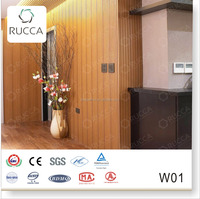 2015 Wood Plastic Composite Wall Covering for Interior Decor 159*10mm China Supplier