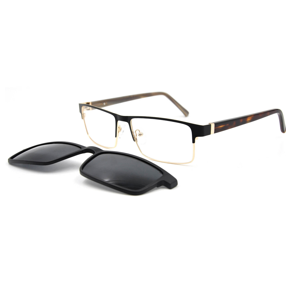 Wholesale Stock Clip On Glasses Optical Frame With Full Rim Frames фото