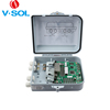 8FE Reverse PoE Switch GEPON ONU with IP65 Waterproof Case/4KV Surge Protection for Outdoor Use Made in China