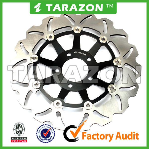 Factory custom cnc billet floating brake disc disk rotor 330mm for motorcycle