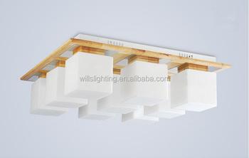 Abbagliante europea rustico lampade a soffitto in legno per