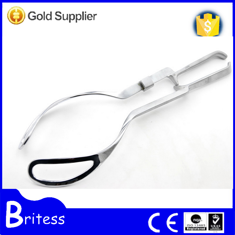 High quality surgical gynecology uterine forceps