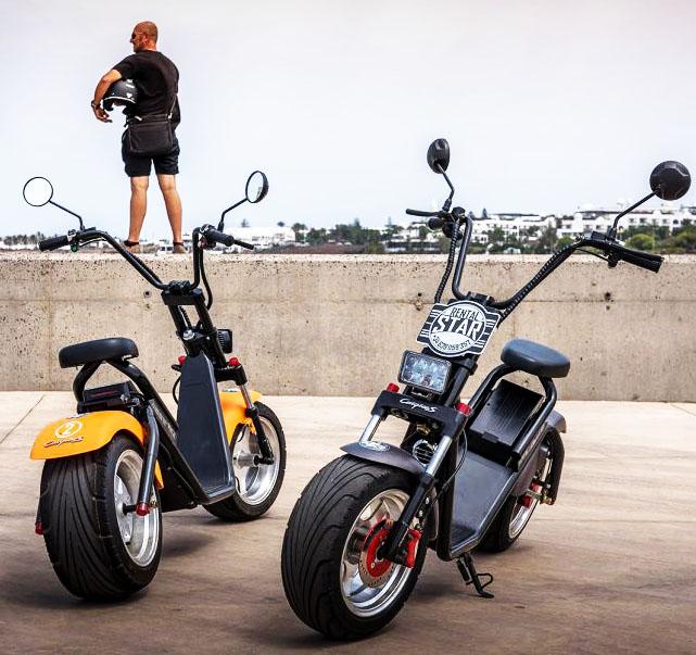 1500w 2000 w Big wheelelectric scooter citycoco scooter bike фото
