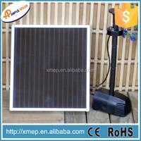 Solar fountain pump kit