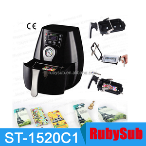 ST1520C1 3D Mini Sublimation Vacuum Heat Press Machine for Phone Cases Mobile Covers Mugs Cups Plates Wineglass Crystal