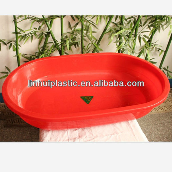 Large bath bucket /plastic child baby bucket bath basin water bathtub /baby swimming pool