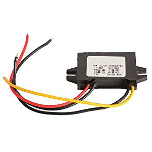 Vehicle Car Charger DC Converter 14 Millimeters Ultrathin 12V To 5V 3A 15W Step Down Module