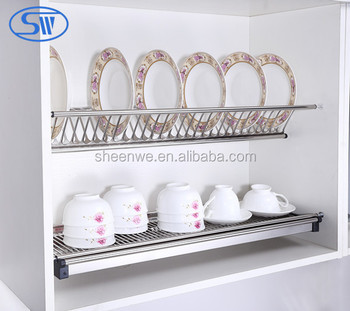 Guangzhou Factory Supply Kitchen Cabinet Dish Rack For
