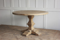 2017 New oak dining table